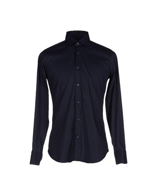 Caliban | Blue Shirt for Men | Lyst
