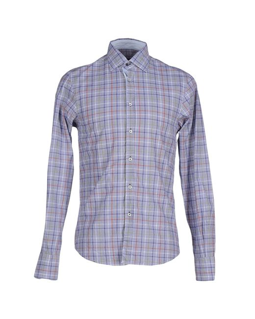 Massimo Rebecchi | Blue Shirt for Men | Lyst