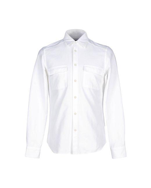 Mauro Grifoni | White Shirt for Men | Lyst