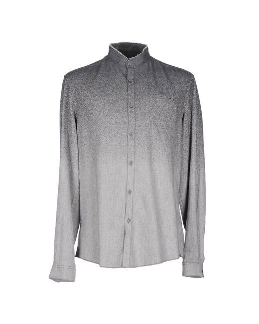 drykorn shirt in gray for men grey save 31 lyst. Black Bedroom Furniture Sets. Home Design Ideas