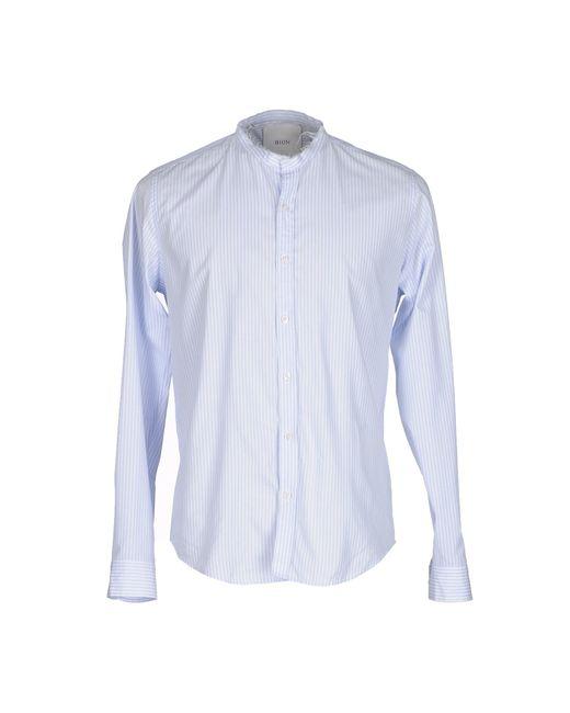 Bion | Blue Shirt for Men | Lyst