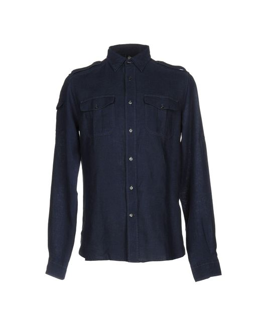 Marina Yachting | Blue Shirt for Men | Lyst