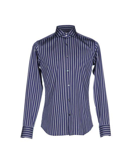 Guglielminotti   Blue Shirt for Men   Lyst
