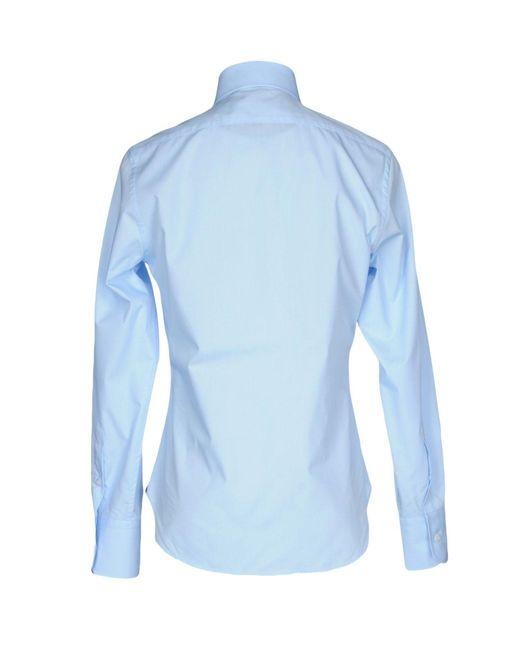 Billionaire | Blue Shirt for Men | Lyst