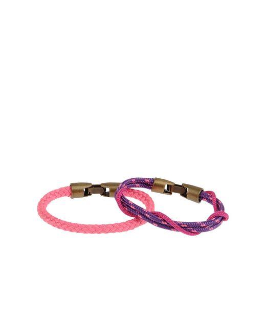 L4k3 | Purple Bracelet | Lyst