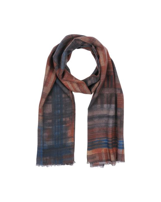 Fiorio - Brown Oblong Scarf - Lyst