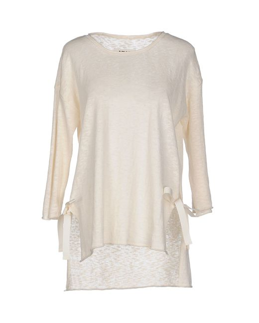 MM6 by Maison Martin Margiela | Natural Sweater | Lyst