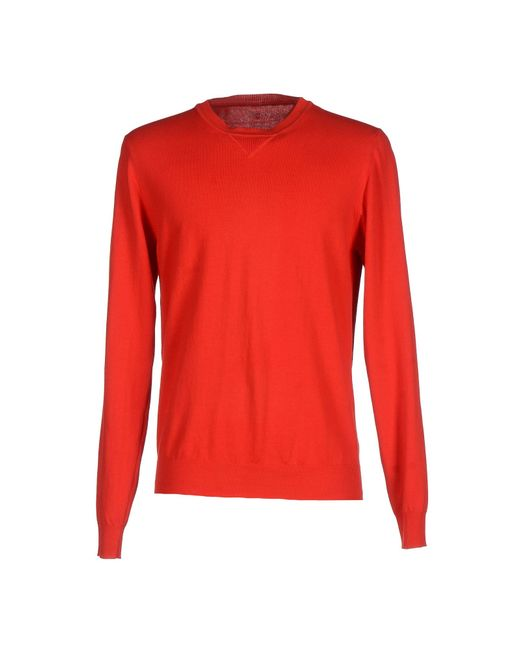 Dondup | Red Sweater for Men | Lyst