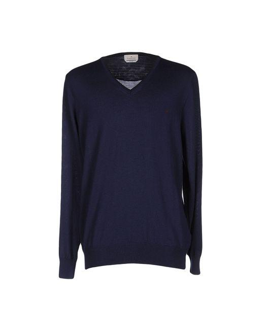 Brooksfield | Blue Sweater for Men | Lyst