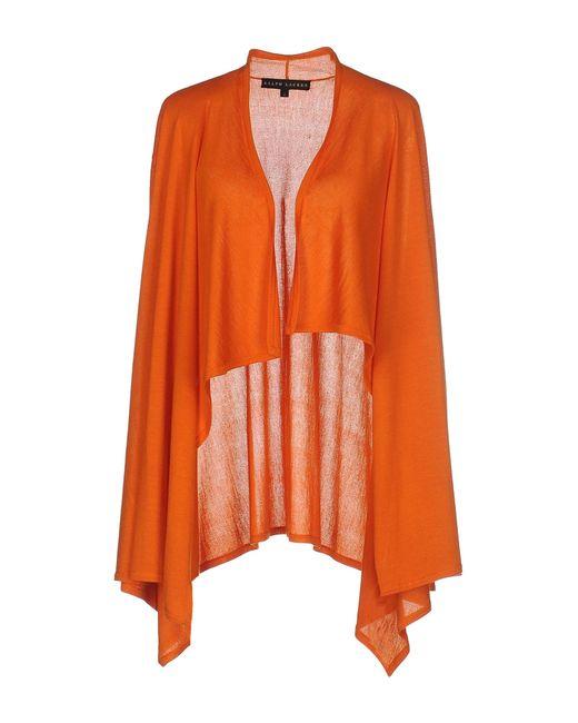 Ralph Lauren Black Label | Orange Cardigan | Lyst