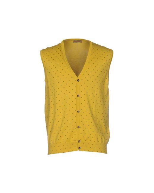Retois | Yellow Cardigan for Men | Lyst
