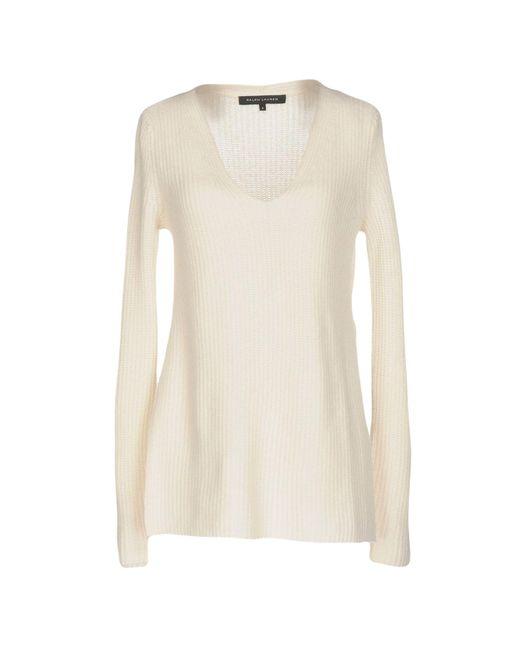 Ralph Lauren Black Label | White Sweater | Lyst