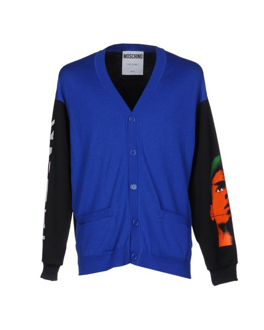 Moschino Couture | Blue Cardigan for Men | Lyst