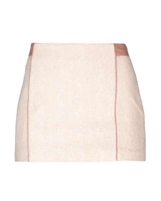 Patrizia Pepe - Pink Mini Skirt - Lyst