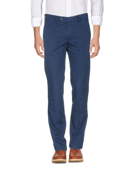 Aspesi - Blue Casual Pants for Men - Lyst