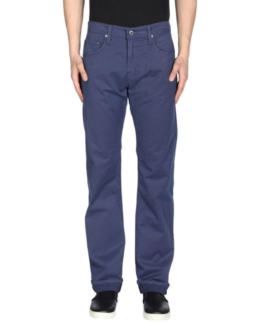 AG Jeans - Blue Casual Pants for Men - Lyst