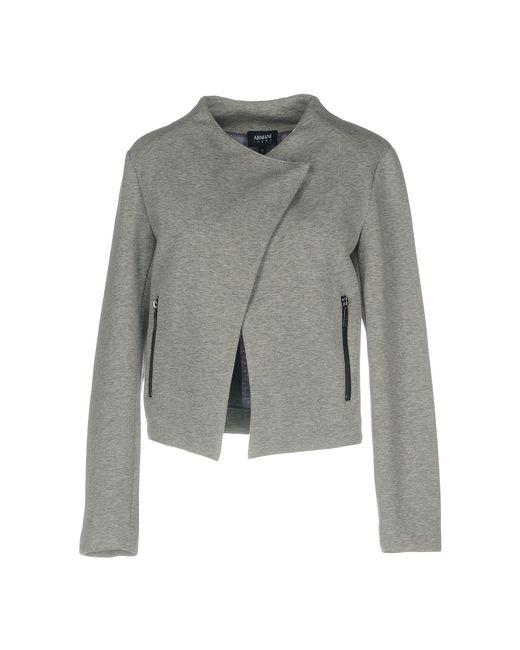 Armani Jeans - Gray Jacket - Lyst