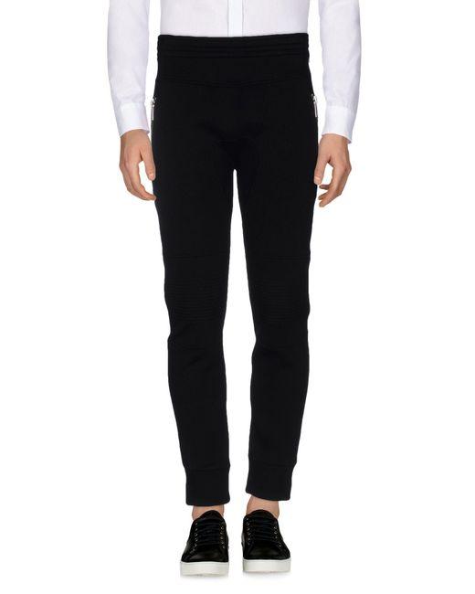 Neil Barrett - Black Casual Trouser for Men - Lyst