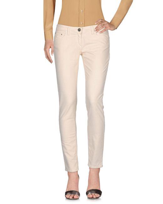 Elisabetta Franchi - White Casual Pants - Lyst