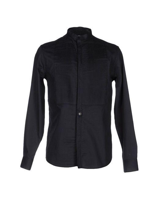 Balmain - Black Shirt for Men - Lyst