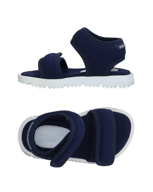 Dolce & Gabbana - Blue Sandals for Men - Lyst