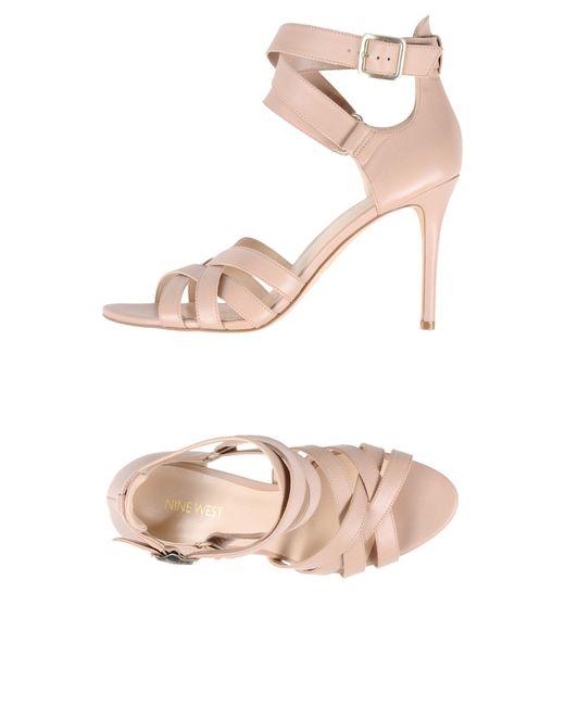 Nine West - Pink Sandals - Lyst