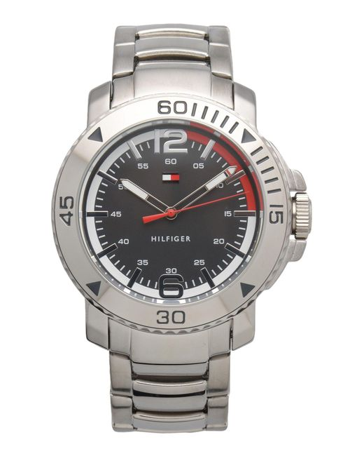 Tommy Hilfiger - Metallic Wrist Watch for Men - Lyst