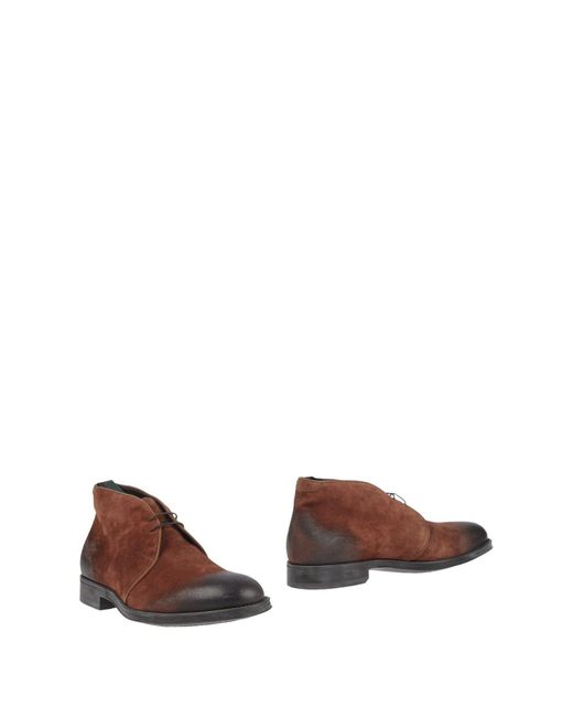 Alberto Guardiani - Brown Ankle Boots for Men - Lyst