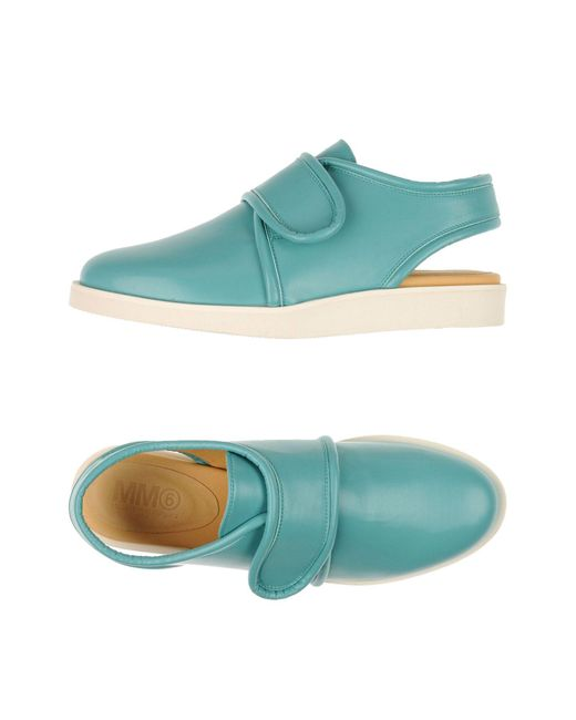 MM6 by Maison Martin Margiela - Blue Low-tops & Trainers - Lyst