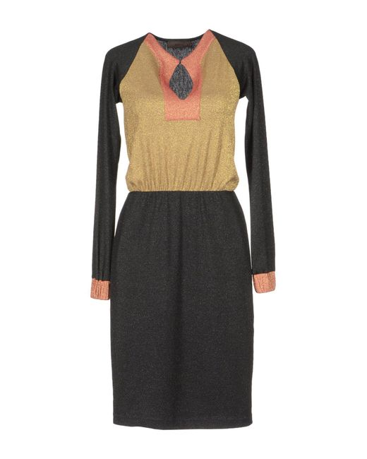 Jo No Fui - Black 34 Length Dresses - Lyst