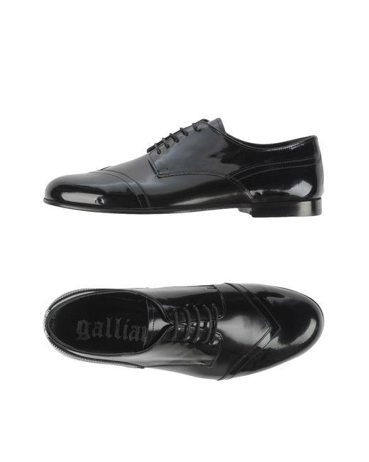 John Galliano | Black Lace-up Shoe for Men | Lyst