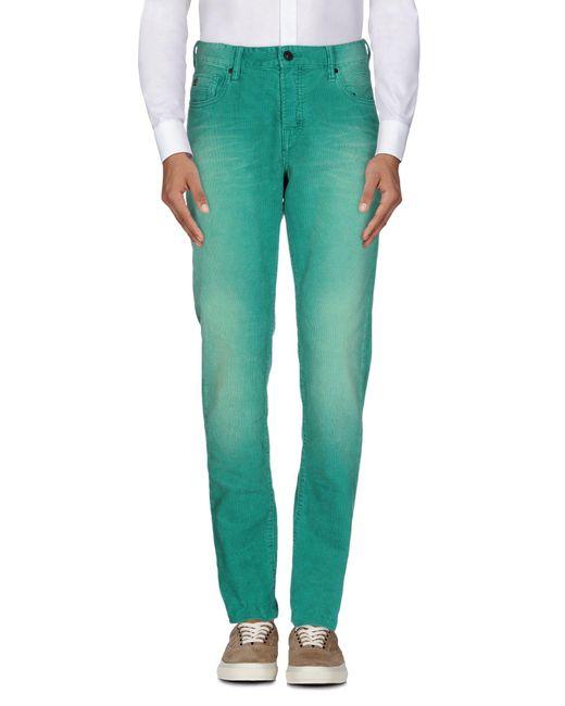 Scotch & Soda - Green Casual Trouser for Men - Lyst
