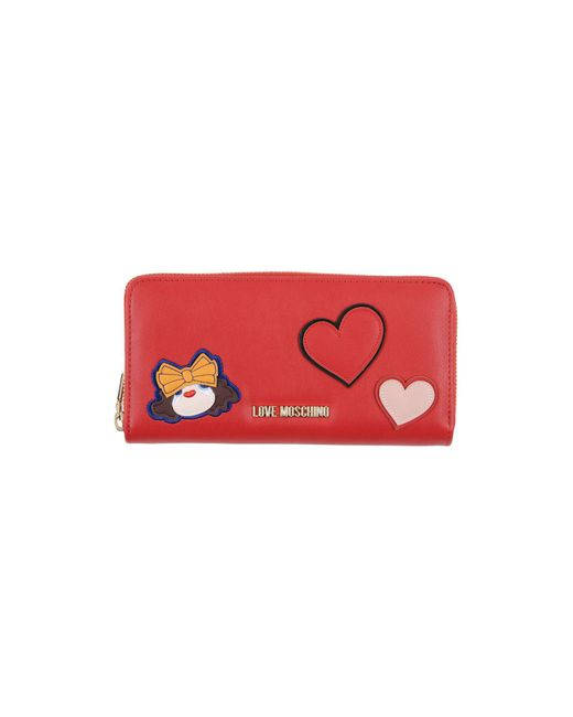 Love Moschino - Red Wallets - Lyst