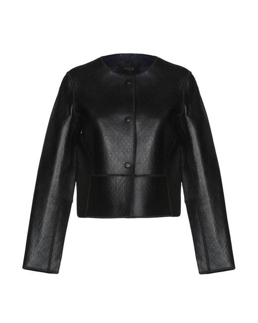 Maje - Black Jacket - Lyst