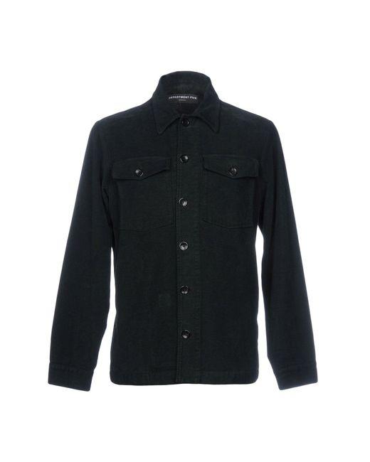 Department 5 - Green Shirt for Men - Lyst