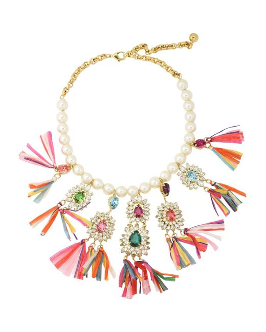 Shourouk - White Necklace - Lyst