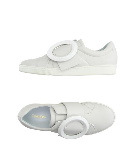 CALVIN KLEIN 205W39NYC - White Low-tops & Sneakers - Lyst