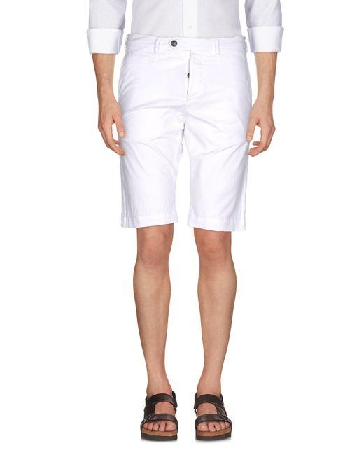 Cruciani - White Bermuda Shorts for Men - Lyst