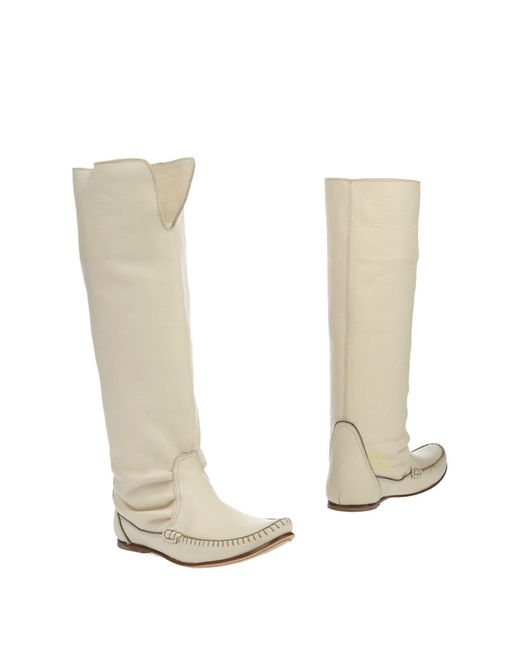 Belle By Sigerson Morrison | White Boots | Lyst