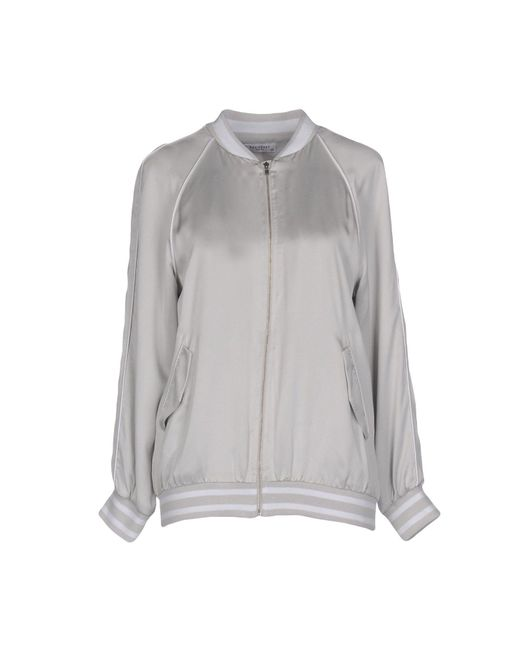Equipment | Gray Jacket | Lyst