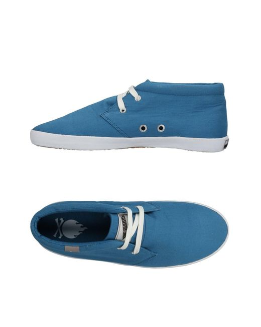 Bobbie Burns - Blue Low-tops & Sneakers for Men - Lyst