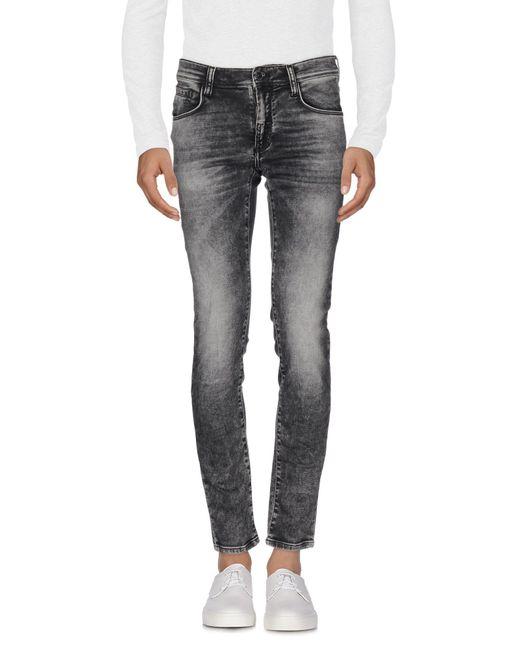 Antony Morato - Gray Denim Trousers for Men - Lyst