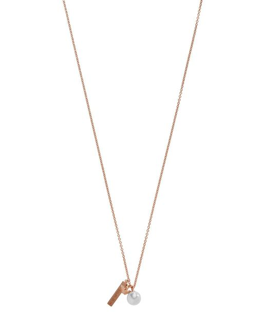 Emporio Armani | Metallic Necklaces | Lyst