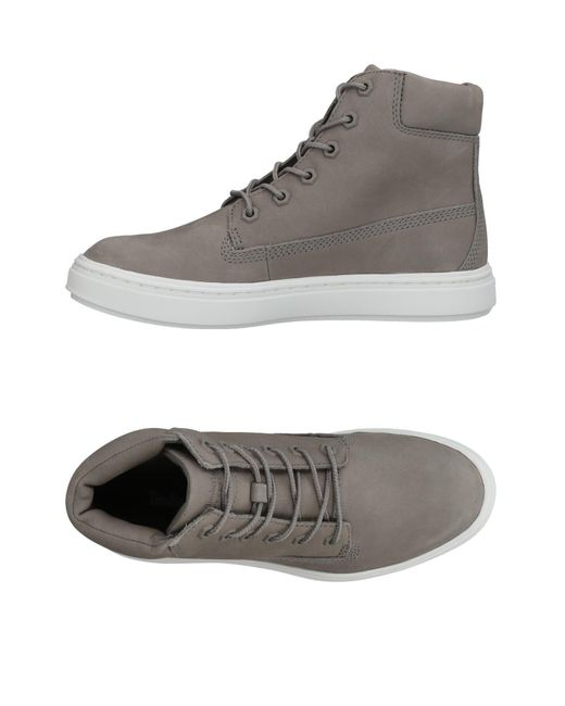 Timberland - Gray High-tops & Sneakers - Lyst