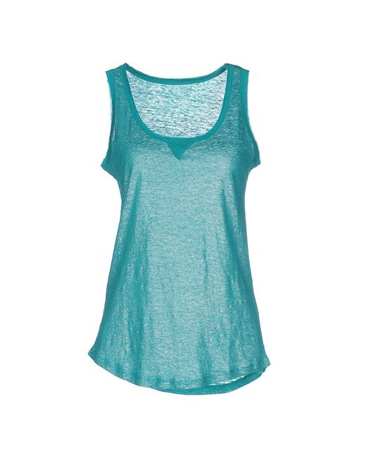 Majestic Filatures - Blue Tank Top - Lyst