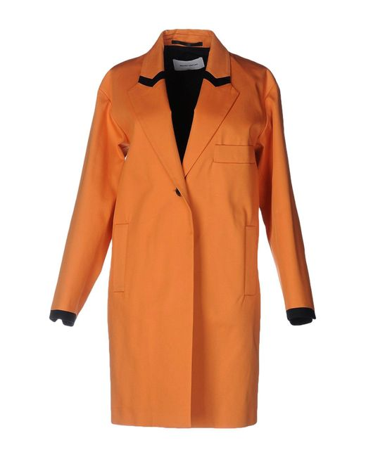 Mauro Grifoni | Orange Overcoat | Lyst