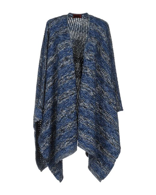 Missoni | Blue Capes & Ponchos | Lyst
