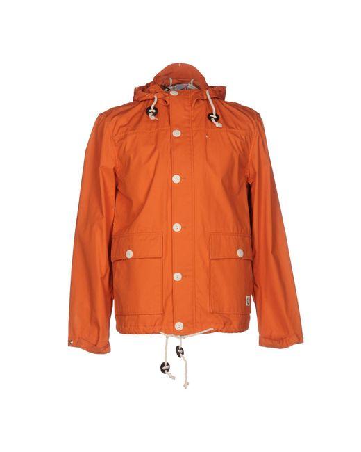 Suit Jacket In Orange For Men