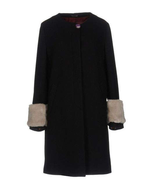 Maliparmi | Black Coat | Lyst