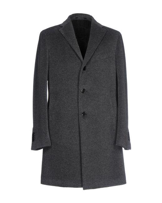 Tagliatore   Gray Coat for Men   Lyst